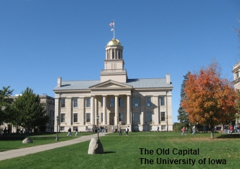 The Old Capital, The University of Iowa